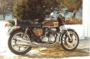Guy DeCara's '71 CB750K