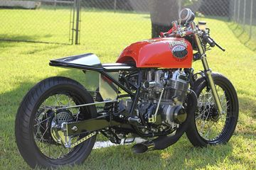 Terry Hopkins' '74 CB750K