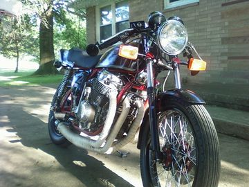 Jeff Price's '72 CB750K