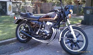 David Simmonds' '77 CB750K