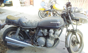 Mike Dodge's '82 CB750K