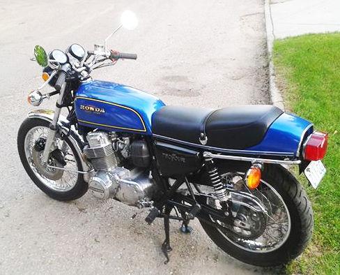 Curtis Scarrow's '75 CB750F - Vintage CB750 - Honda CB750 ...