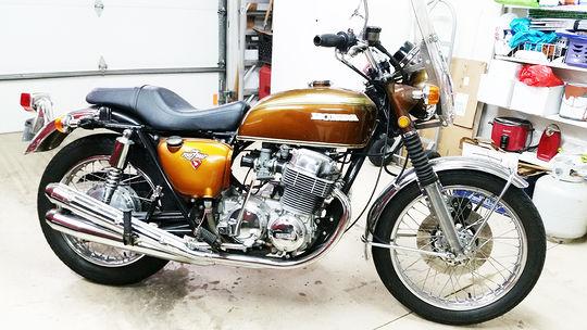 Wes Molenaar's '71 CB750K - Vintage CB750 - Honda CB750 ...