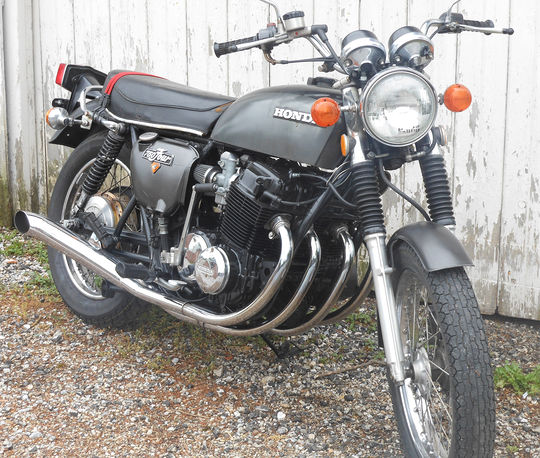 1964 Honda Cb72 250cc Rare Honda For Sale: Bruce Keefer's '75 CB750K
