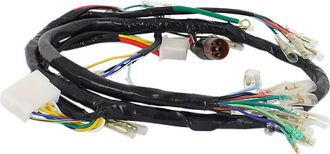 wiring harnesses and charging system parts electrical products rh vintagecb750 com cb550 custom wiring harness 1976 cb550 wiring harness