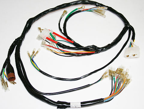 24 4003 wiring harnesses and charging system parts electrical products wiring harness honda cb750 at crackthecode.co