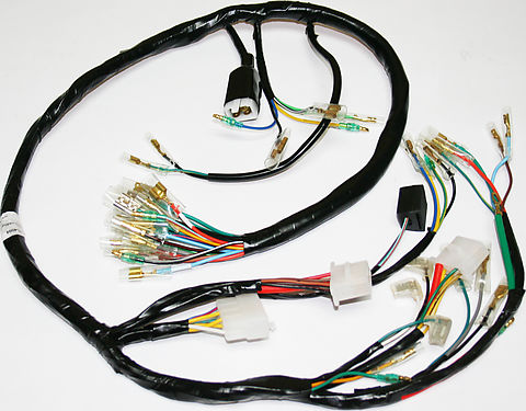 wiring harnesses and charging system parts electrical products rh vintagecb750 com Automotive Wiring Harness Ford Wiring Harness Kits