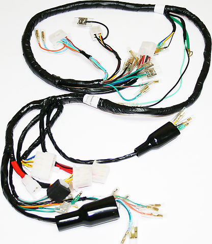 wiring harnesses and charging system parts electrical products rh vintagecb750 com Wiring Harness Terminals and Connectors Truck Wiring Harness