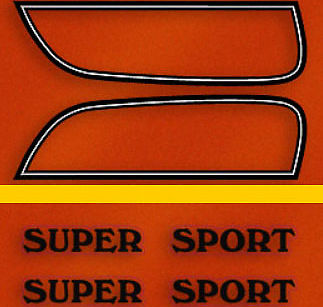 Decals tools hardware manuals decals products vintage cb750 add to cart cb750f 1975 gas tank decal set flake sunrise orange model publicscrutiny Choice Image